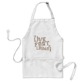 *LIVE FART LAUGH! STANDARD APRON