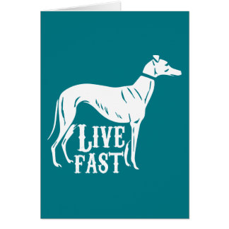 Live Fast Card