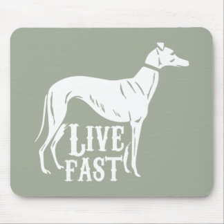 Live Fast Mouse Mat