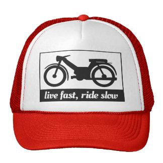 Live Fast, Ride Slow Cap