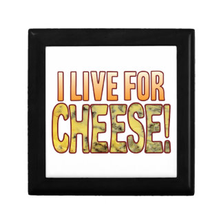 Live For Blue Cheese Small Square Gift Box