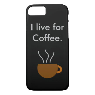 Live for coffee iPhone 8/7 case