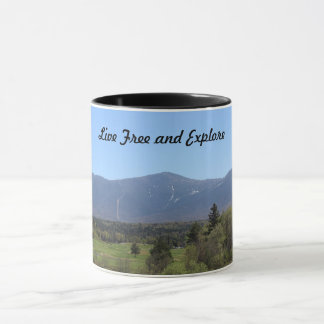 Live Free and Explore Mug