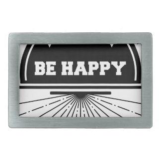 Live free bee happy belt buckle