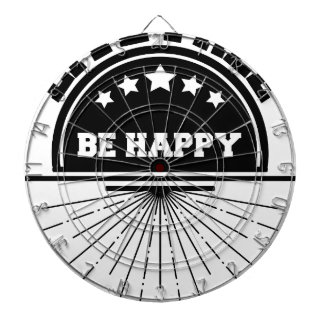 Live free bee happy dartboard