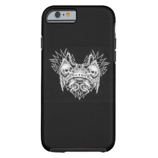 Live Free Ride Hard Tough iPhone 6 Case