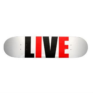 Live Free Skateboard