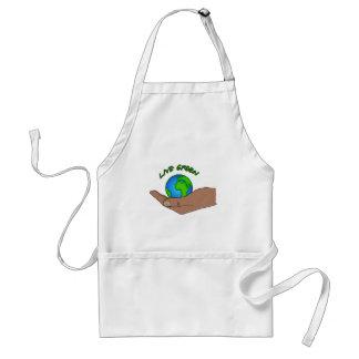 live green apron