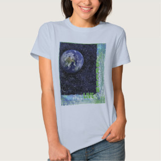 Live Green as a Woman T Shirts