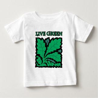 Live Green Baby T-Shirt