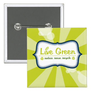 Live Green Pins