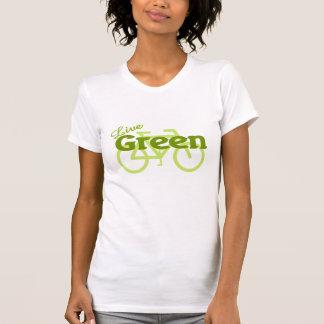 live green bike t shirts