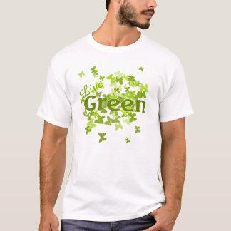 live green butterfly T-Shirt