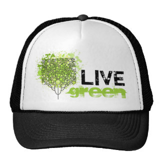 Live Green Mesh Hat