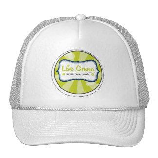 Live Green Cap