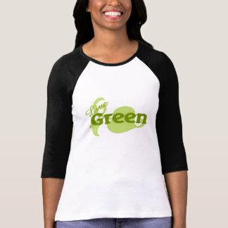 live green leaf tshirts