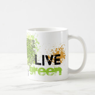 Live Green Mugs