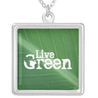Live Green Pendant