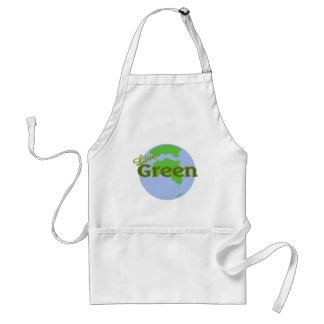 live green planet earth standard apron