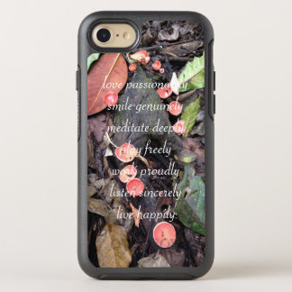 Live happily cellphone case