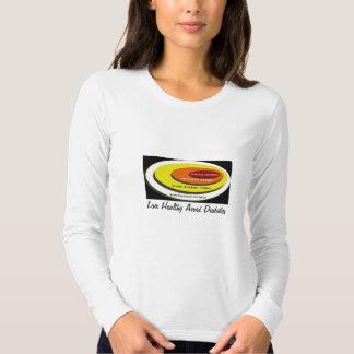 Live Healthy Avoid Diabetes T Shirt