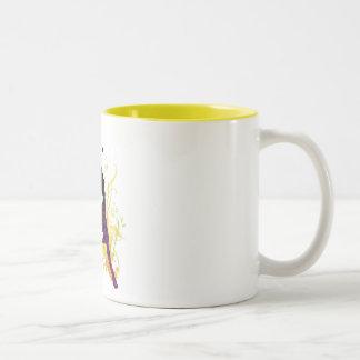 Live healthy, be free! Two-Tone mug