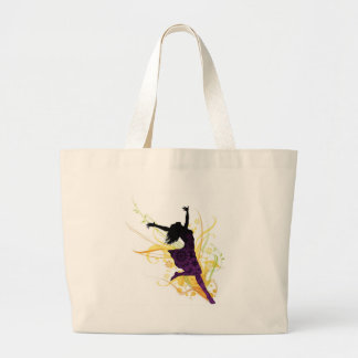 Live healthy, be free! jumbo tote bag