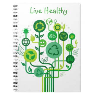 Live Healthy Collection Notebooks