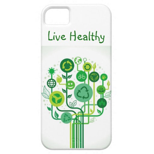 Live Healthy I-phone case iPhone 5 Covers