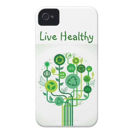Live Healthy iPhone 4 case
