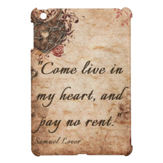 Live in My Heart iPad Mini Cover