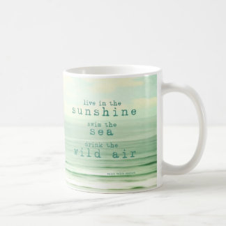 live in the sunshine mug