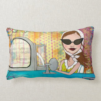 """Live in the Sunshine"" Pillow"
