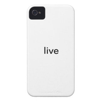 Live iPhone Case iPhone 4 Cover