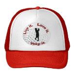 Live it. Love it. Play it. Mesh Hats