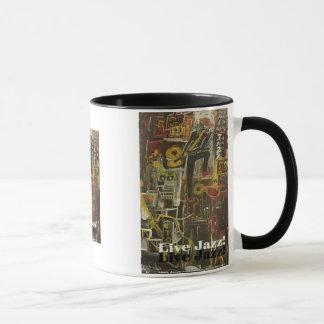 live jazz mug