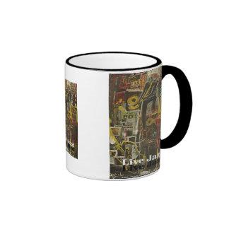 live jazz ringer mug