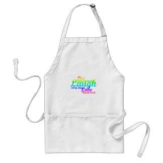 live, laugh, love apron