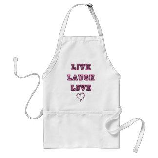 Live Laugh Love Adult Apron