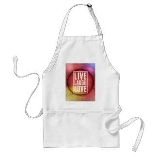 Live Laugh Love Apron