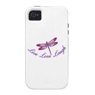Live, Laugh, Love Case-Mate iPhone 4 Cases