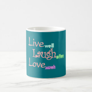Live - Laugh - Love Coffee Mug