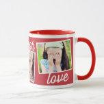 Live Laugh Love Custom Photo Mug