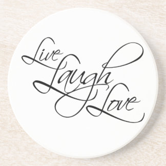 Live  Laugh  Love Customize Product Coasters