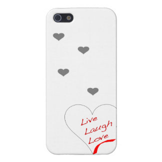 Live Laugh Love iPhone5 iPhone 5/5S Case