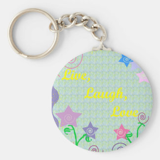 Live, Laugh, Love key chain