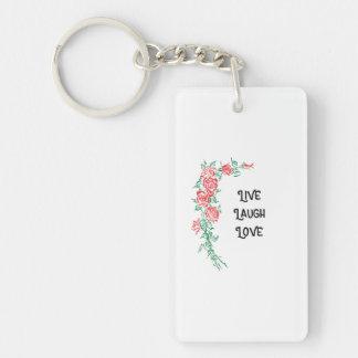 Live Laugh Love key chain