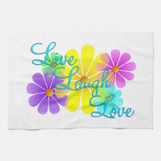 Live Laugh Love Kitchen Towel