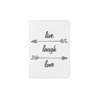 Live, Laugh, Love Passport Holder
