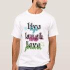 Live Laugh Love premium t shirt